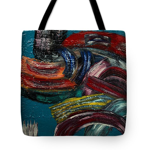 Paths To Choose- Painting Tote Bag by Renee Anderson