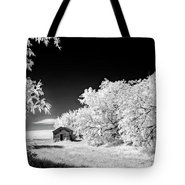 Tote Bag featuring the photograph Under A Dark Sky by Dan Jurak