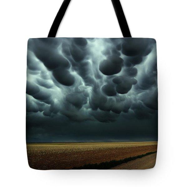 Under A Mammatus Sky Tote Bag