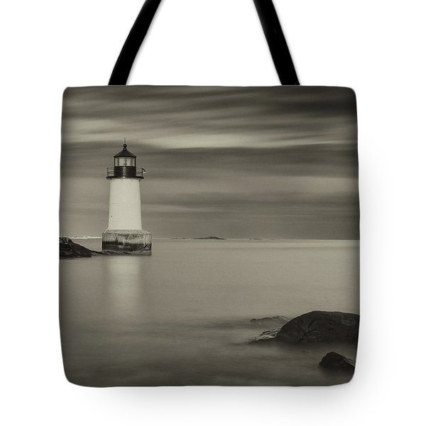 Tote Bag featuring the photograph Under A Pale Grey Sky by Brian Hale