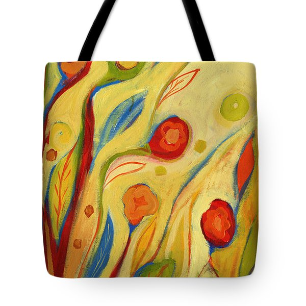 Under A Sky Of Peaches And Cream Tote Bag