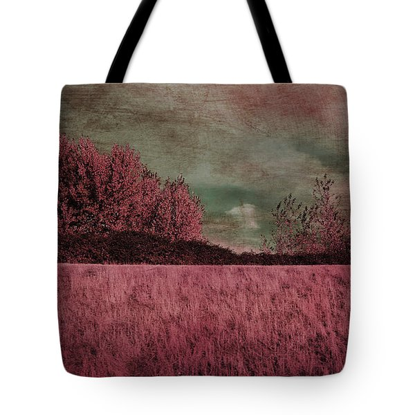 Under A Stormy Sky Tote Bag
