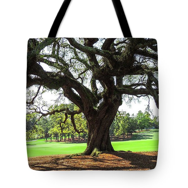 Under An Augusta Oak Tote Bag