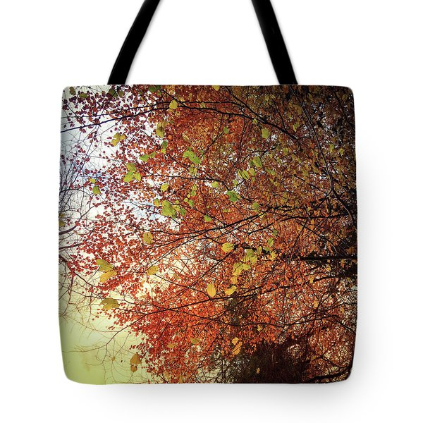 Under An Autumn Sky - No.2 Tote Bag
