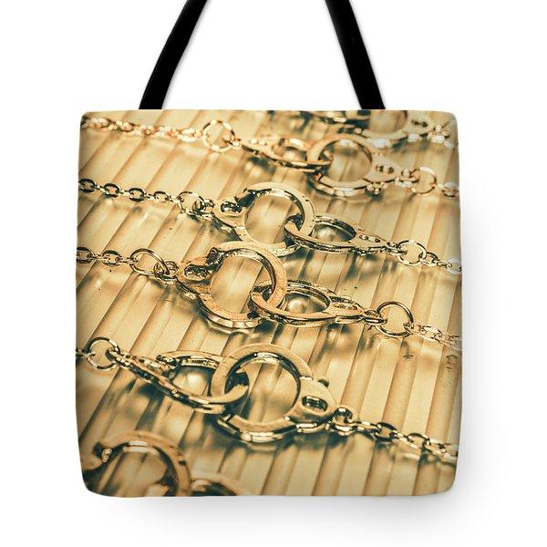 Under Arrest Tote Bag