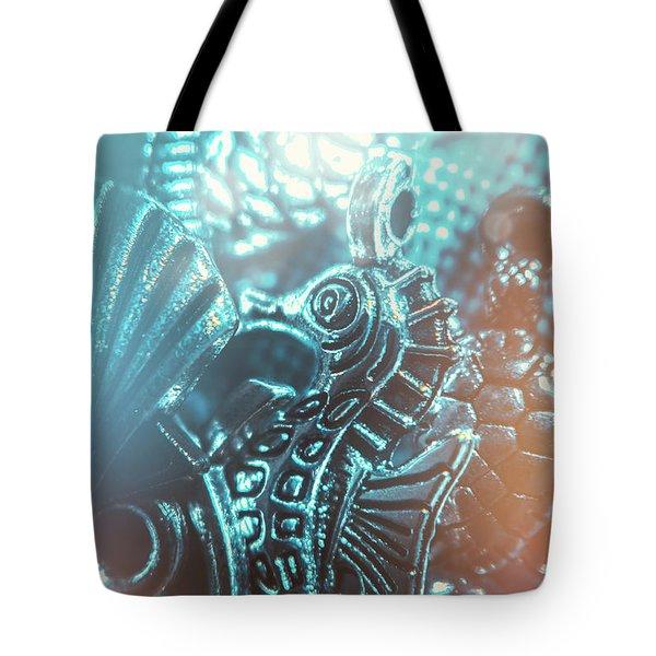 Under Blue Seas Tote Bag