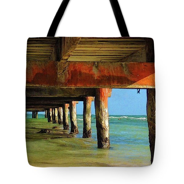 Under Dock Tote Bag