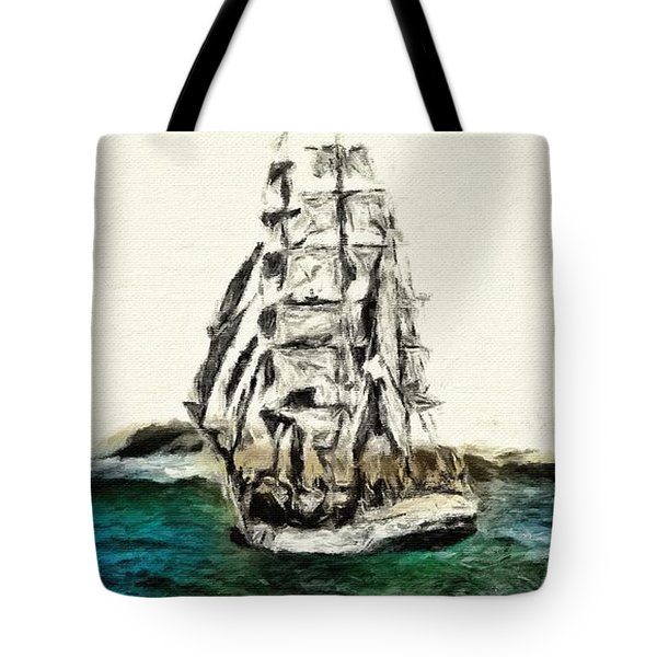 Under Full Canvas Tote Bag by Blair Stuart