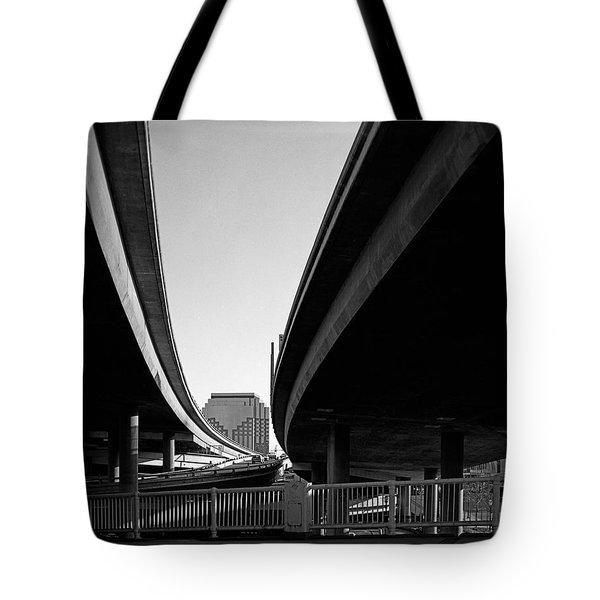 Under Interstate 5 Sacramento Tote Bag