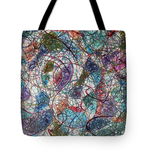 Under It All Tote Bag