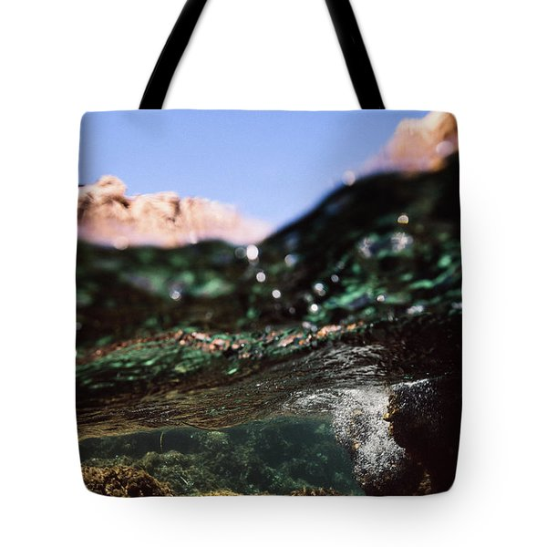Under Rocks Tote Bag