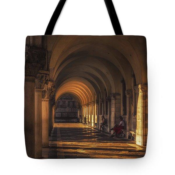 Under Saint Mark's Basilica Tote Bag