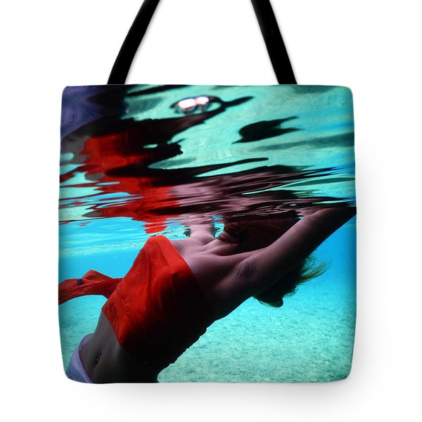 Under Sea Reflection Tote Bag