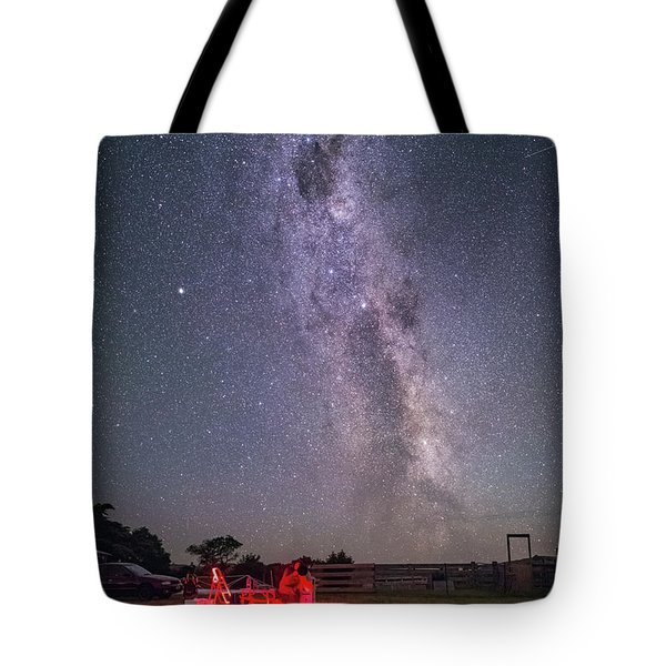 Under Southern Stars Tote Bag