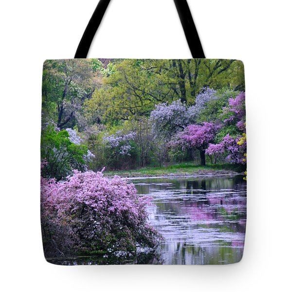 Under Spring's Spell Tote Bag by Living Color Photography Lorraine Lynch