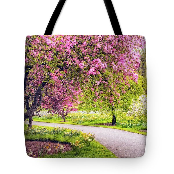 Under The Apple Tree Tote Bag by Jessica Jenney