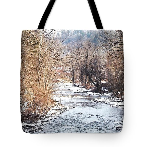 Under The Arch Tote Bag by Ellen Levinson