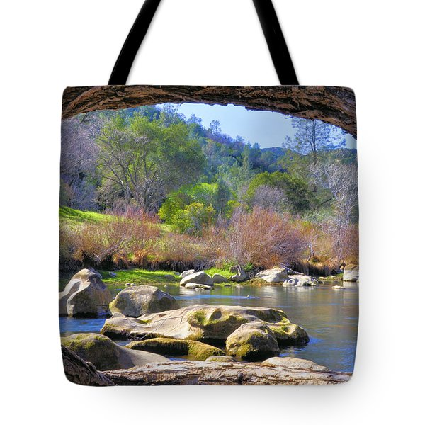 Under The Arch Tote Bag by Josephine Buschman