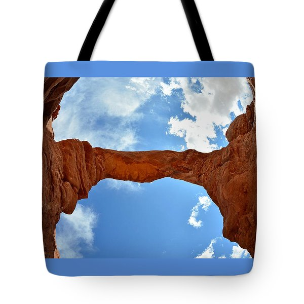 Under The Arch - Arches National Park Tote Bag