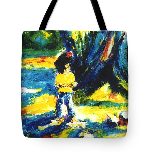 Under The Banyan Tree#201 Tote Bag by Donald k Hall
