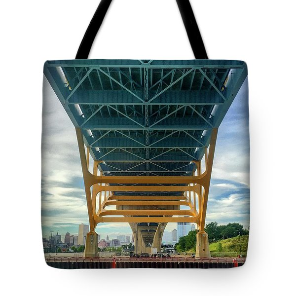 Under The Bridge Downtown Tote Bag