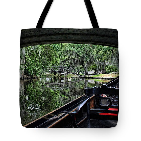 Under The Bridge Tote Bag by Judy Vincent