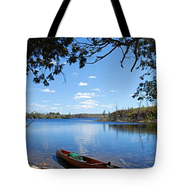 Under The Cedars Tote Bag by Larry Ricker
