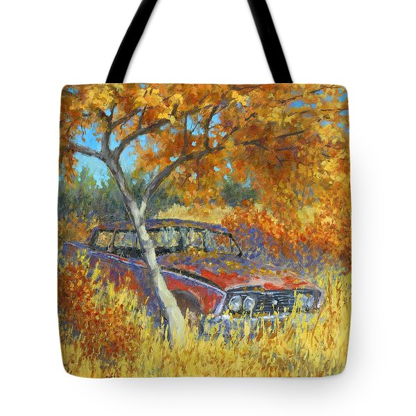 Under The Chinese Elm Tree Tote Bag