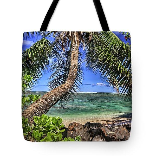 Under The Coconut Tree Tote Bag