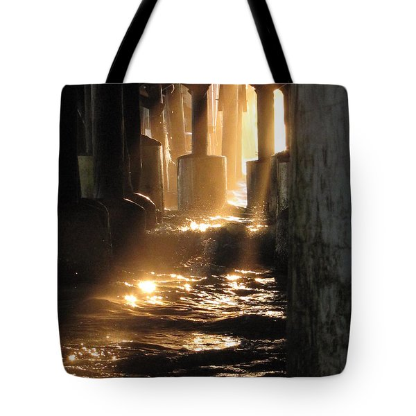 Under The Daytona Beach Pier 004  Tote Bag