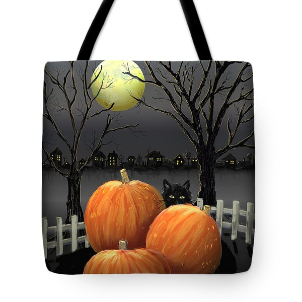 Under The Full Moon Tote Bag