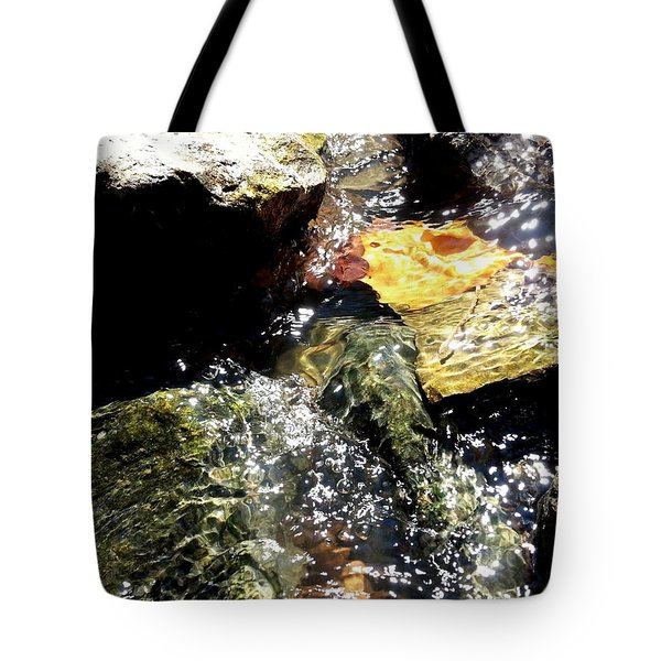 Under The Glass Of Water Tote Bag