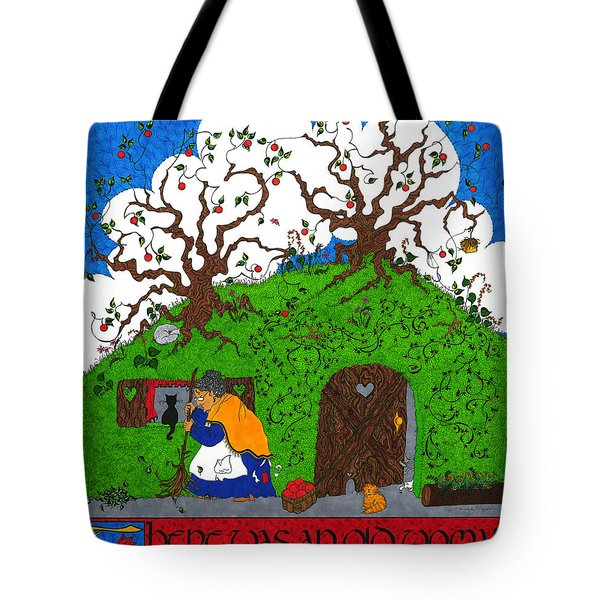 Under The Hill Tote Bag