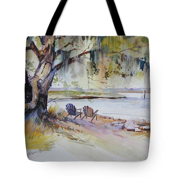 Under The Live Oak Tote Bag