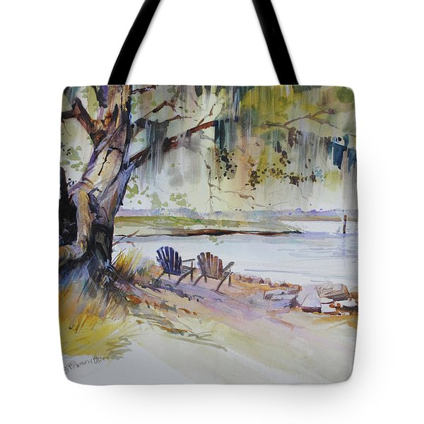 Under The Live Oak Tote Bag
