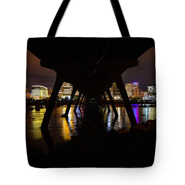 Under The Manchester Bridge Tote Bag