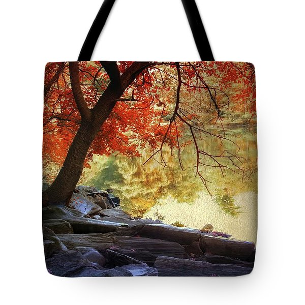 Tote Bag featuring the photograph Under The Maple by Jessica Jenney