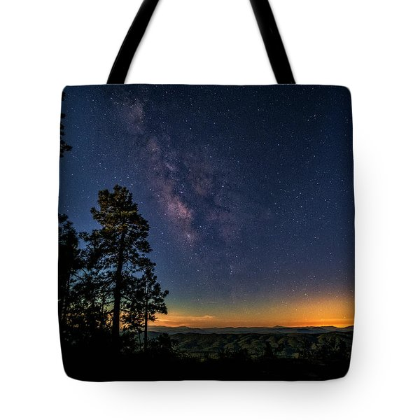 Tote Bag featuring the photograph Under The Milky Way  by Saija Lehtonen