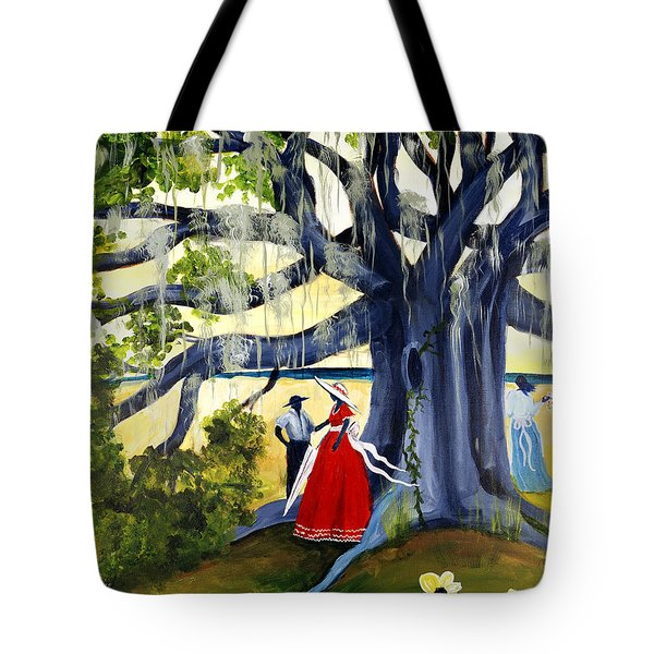 Under The Mossy Oak Tote Bag