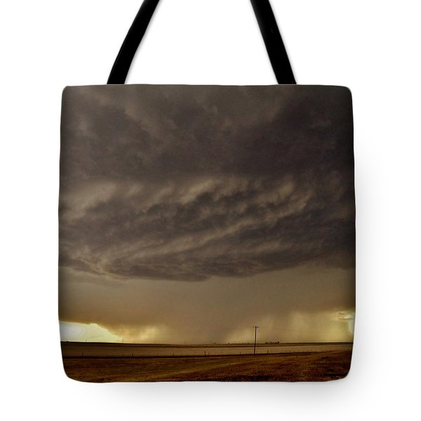 Tote Bag featuring the photograph Under The Mothership by Ed Sweeney