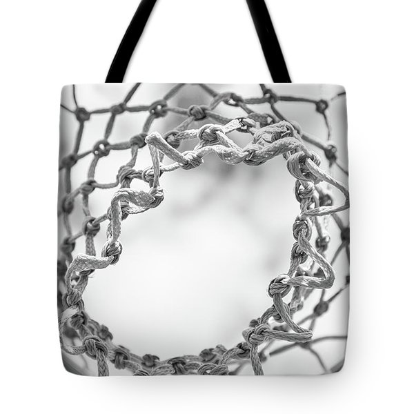 Under The Net Tote Bag by Karol Livote