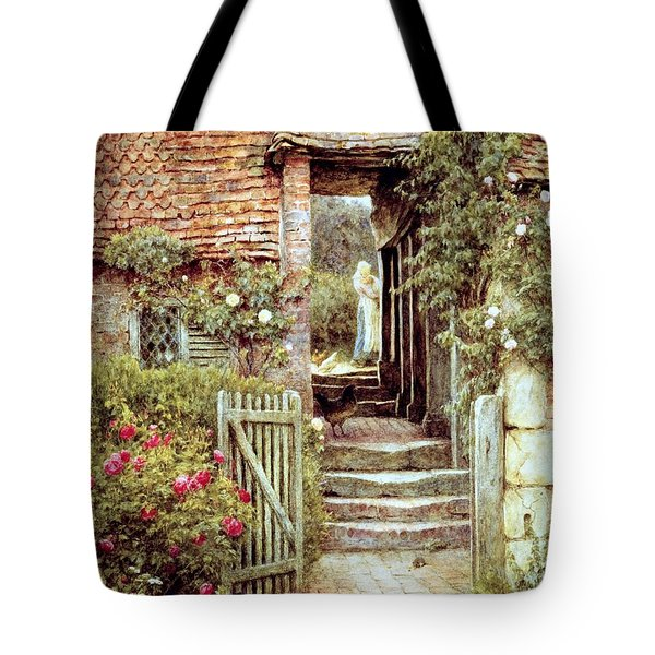 Under The Old Malthouse Hambledon Surrey Tote Bag