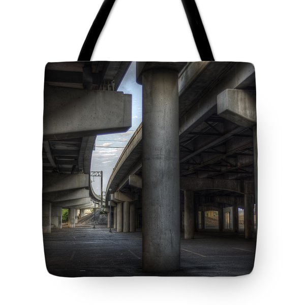 Under The Overpass I Tote Bag