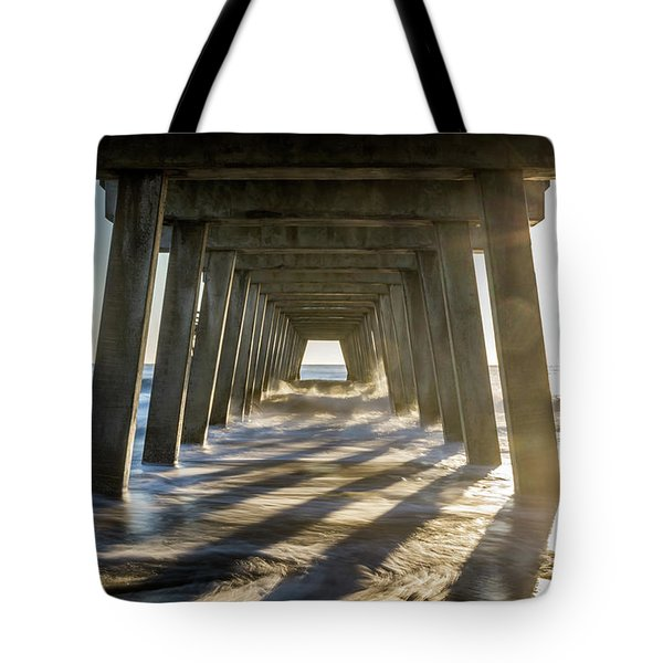 Under The Pier #2 Tote Bag