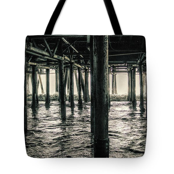 Under The Pier 3 Tote Bag