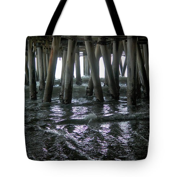 Under The Pier 4 Tote Bag