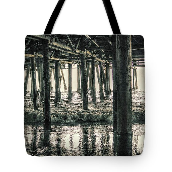 Under The Pier 5 Tote Bag