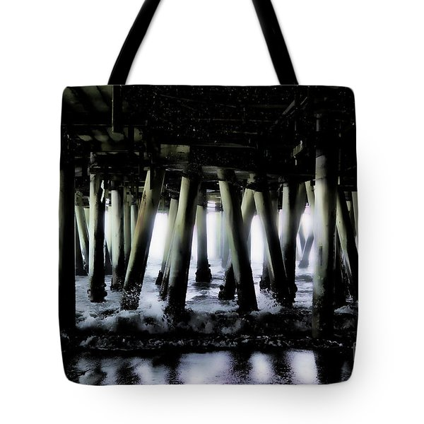 Under The Pier 6 Tote Bag