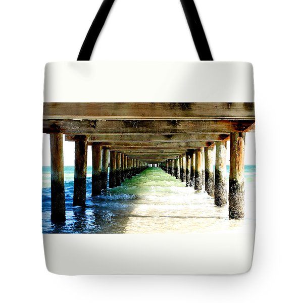 Anna Maria Island Pier Excellence In Photography Award 2016 Tote Bag by Margie Amberge