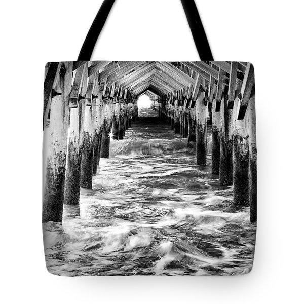 Pier - Myrtle Beach South Carolina Tote Bag